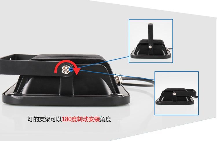 15 pièces IR LED CCTV LED S IR illuminateur infrarouge 850nm vision nocturne AC 220 V IP65 métal étanche pour caméra de surveillance CCTV - 6