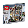 LEPIN 15009 s Creator City Street Creator Pet Shop Model Building Kits figures Blocks action figure bricks baby toys