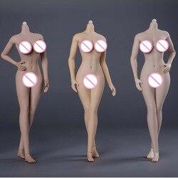 JIAOU POP 3.0 1/6 Schaal Figuur Super Flexibele Europese Vorm (Big bust) vrouwelijke Naadloze Lichaam POM Skelet JIAOUDOLL Body