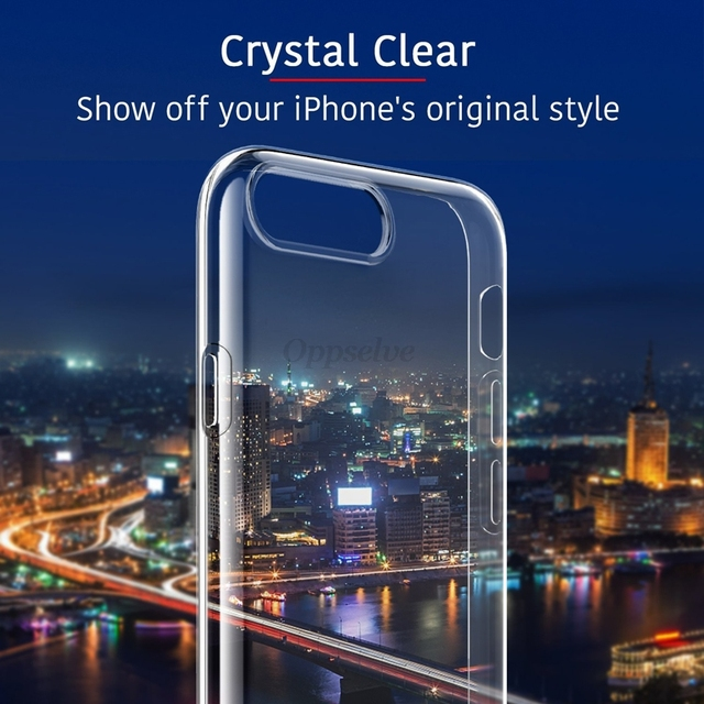Luxury Case For iPhone Ultra Thin Slim Soft TPU Silicone Cover Case 5