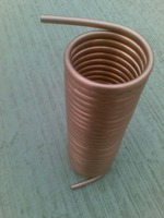 Spiral evaporator copper coil water cooler condenser evaporator heat exchanger radiator Copper pipe diameter 9.52 copper tube