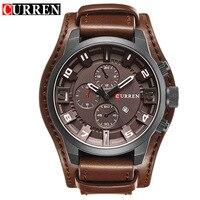 Original CURREN Top Brand Men Sports Waterproof Quartz Watch Military Luxury Calendar Wristwatches Relogio Masculino