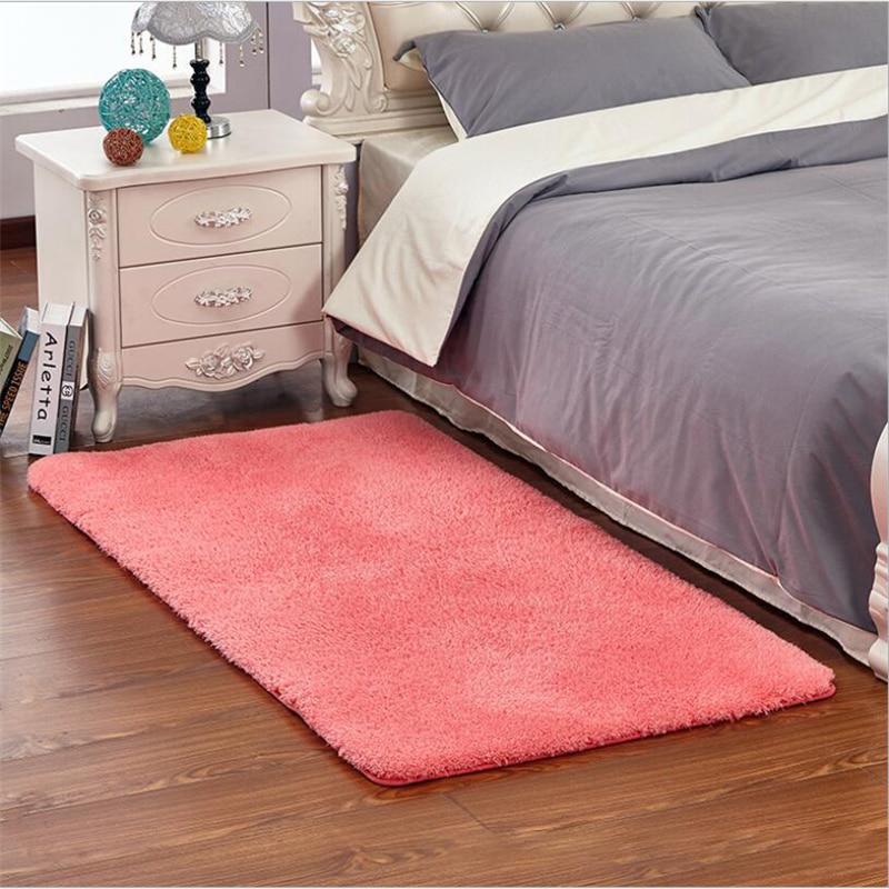 Japanese Style 3cm Long Hair Soft Simple Carpets For Living Room Bedroom Kid Room Rugs Home Carpet Floor Door Mat For Area Rug