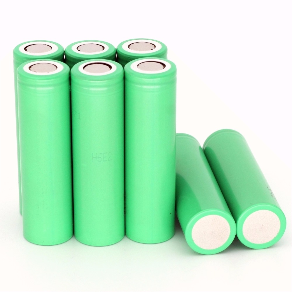 3.7v 200PCS high drain INR18650-25R li-ion battery 2500mah for samsung rechargeable 35A discharge rate for e-cigarette vape mod image