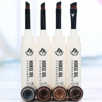 Professional eyebrow pencil Pen Fine Eyebrow Enhancer Waterproof Brow Makeup Cosmetic Natural long lasting perfect gel eyebrow