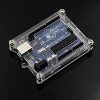 New Uno R3 Case Enclosure Transparent Acrylic Box Compatible With Arduino UNO R3