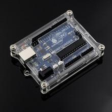 Uno R3 Case Enclosure Transparent Acrylic Box Compatible for Arduino UNO R3
