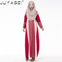 New Hot Arab Robe In The Middle East Costumes Muslim Ethnic Dress Dress Lace Stitching Women Muslim Fashion Dress Casual Section