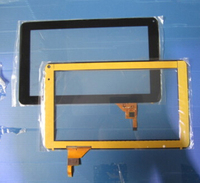 Free Film 9 Capacitive Touch Screen Digitizer Glass Touch Panel Flex Jc1234 Jc1237 JC 234 JC
