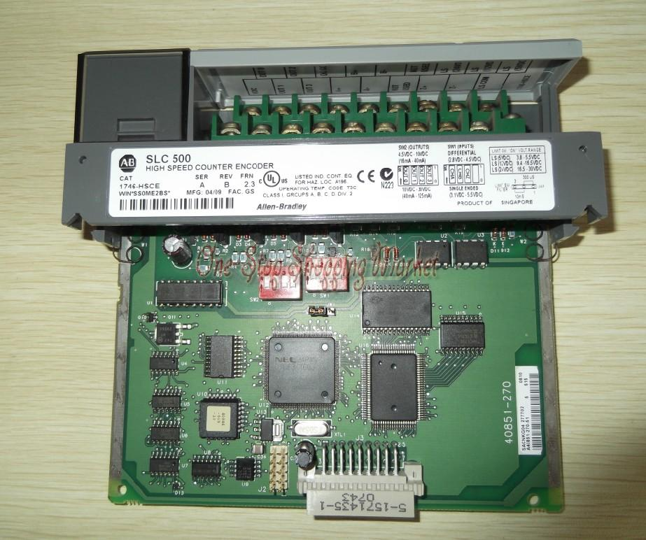 New Original Programmable Controller 1746-HSCE PLC High-Speed Counter Module