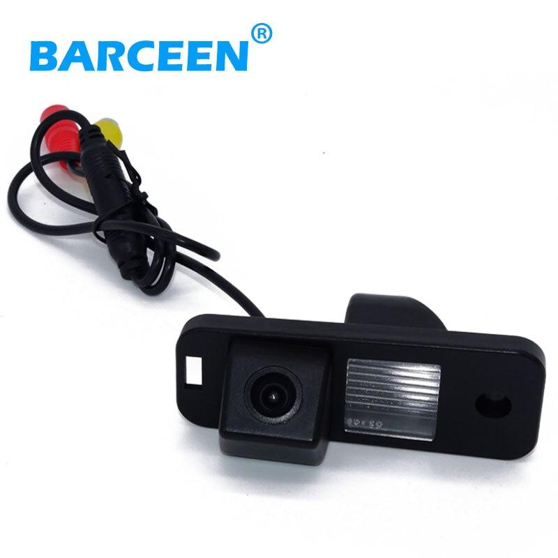 Livraison gratuite CCD couleur Inverse De Voiture Caméra Arrière de sauvegarde stationnement de recul Pour Hyundai SANTA FE Santafe 2010/2013