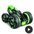 30 KM/H 5-rueda 6CH RC Stunt Car vehículo utilitario deportivo con luz led, puede hacer muchos sorprendentes muestra