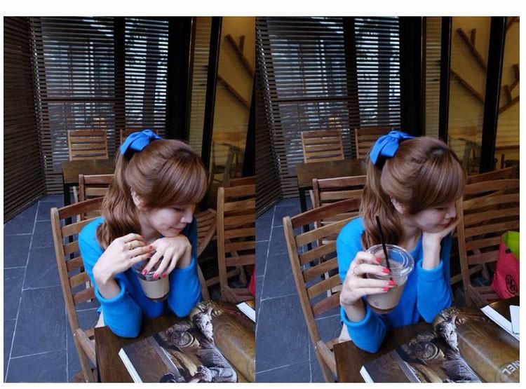 HTB1AywYOFXXXXctXFXXq6xXFXXXR Pretty Solid Cloth Big Bow Hair Clip For Women - 7 Colors