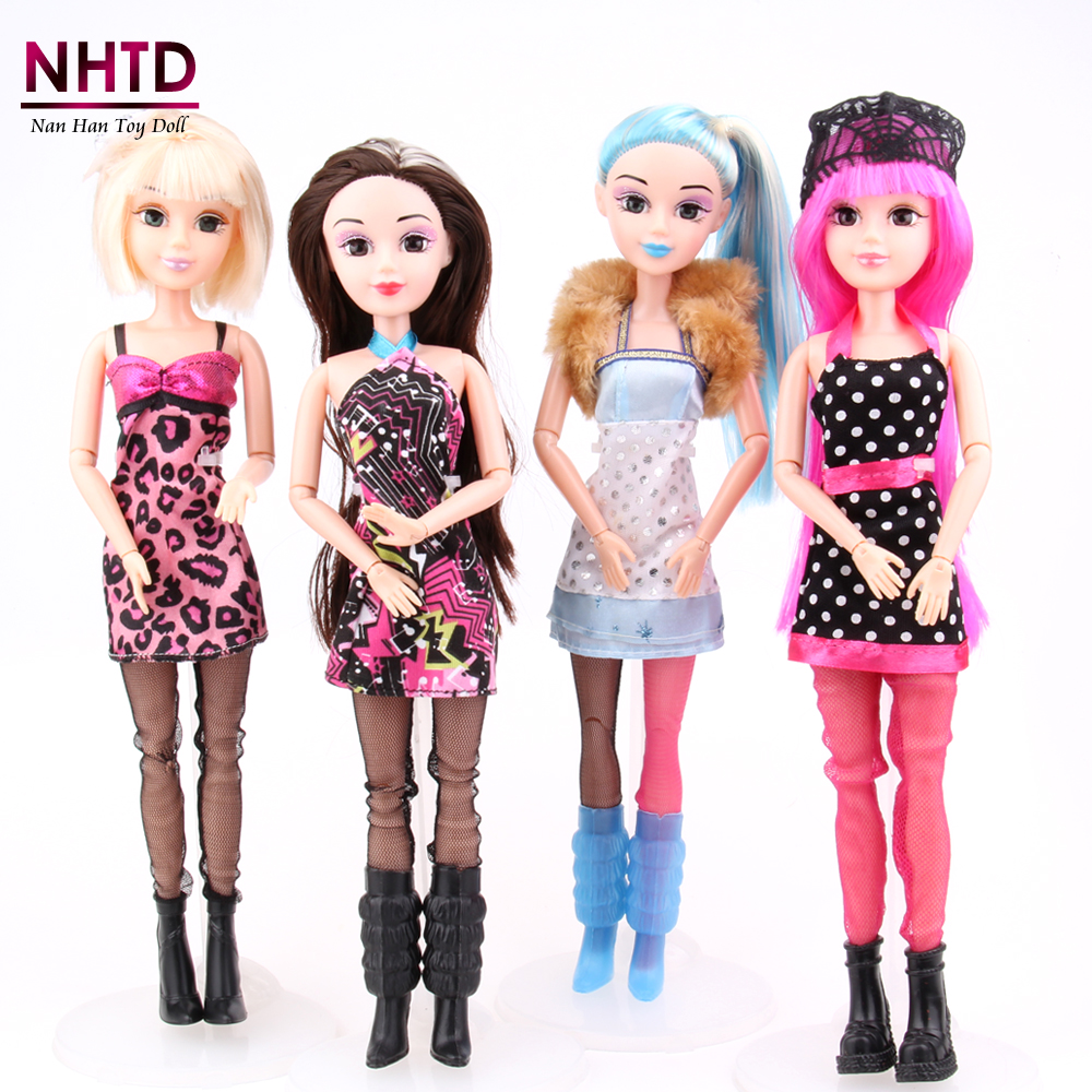 1 PC Magnificence Woman Doll Style Toys New Birthday Reward for Woman Joint Physique DIY bjd doll home for barbie equipment