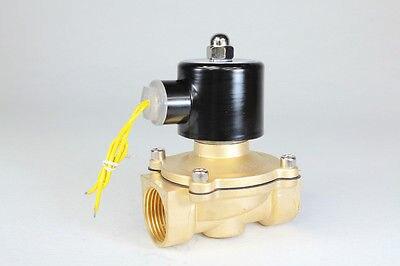 2way2position DC12V 1 1/2 Электрический электромагнитный Клапан Вода Воздух N/C Газ Вода GQ