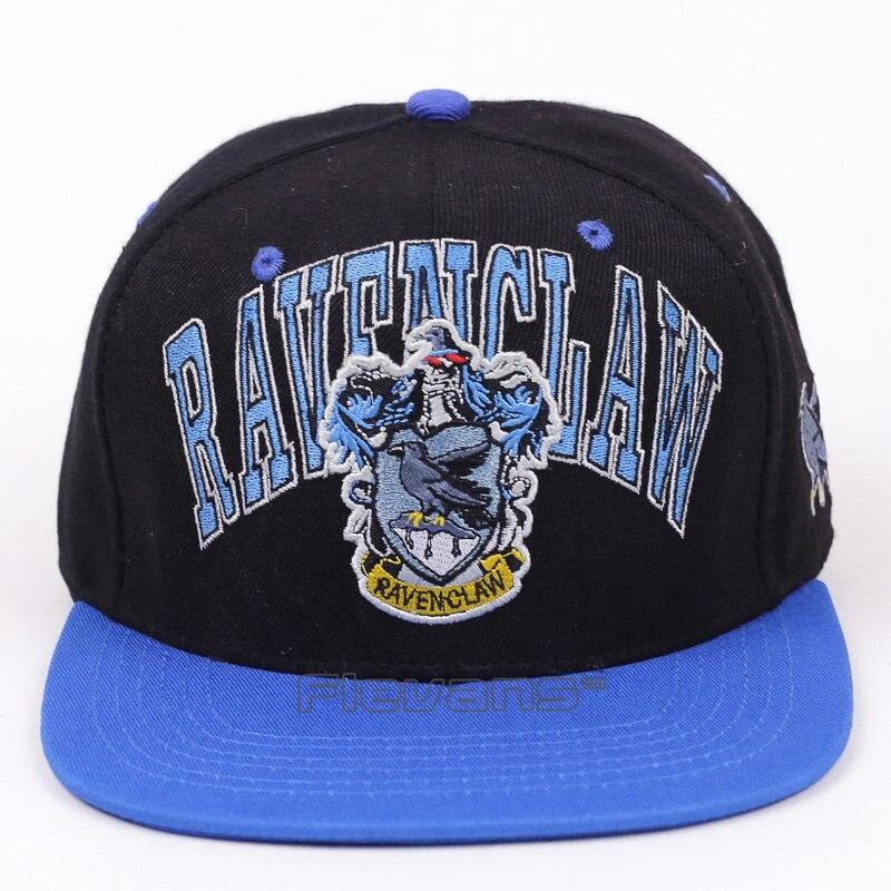 Fashion Ravenclaw Hufflepuff Casual Summer Cotton Snapback   Cap   Hat   Baseball     Caps   Adjustable Hats 2 Styles