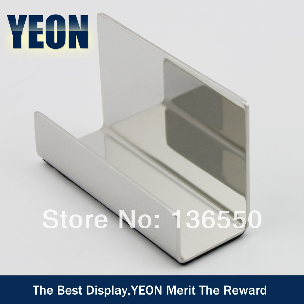 YEON Stainless steel desktop polish business card holder namecard ...