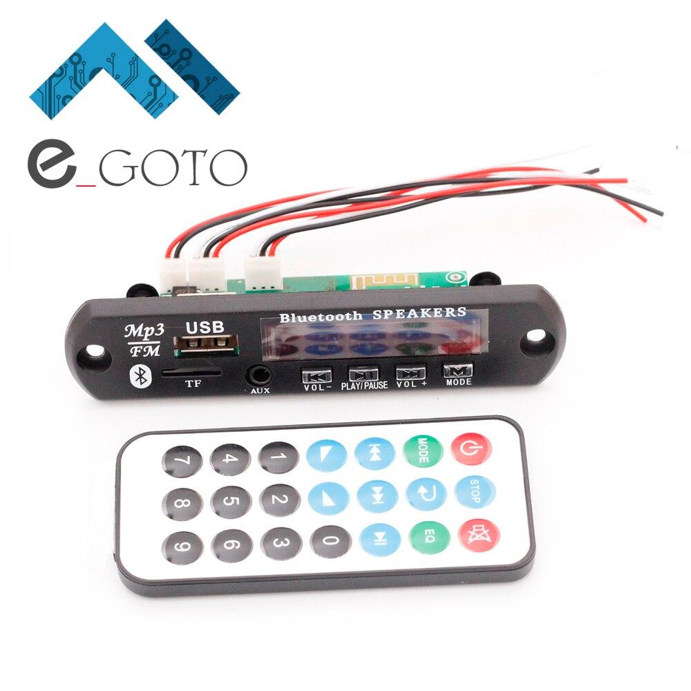 12 V Mémoire Bluetooth MP3 Décodage Conseil FALC WAV WMA APE Audio Amplificateur Récepteur Décodeur Lecteur Module + Fil À Distance contrôleur