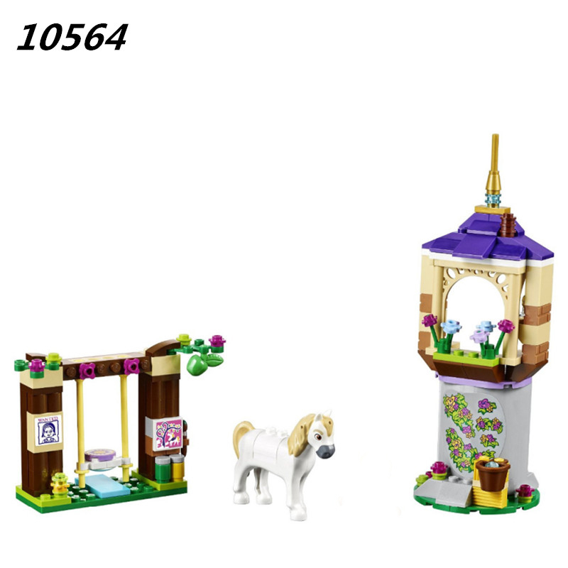 AIBOULLY 2017 New 10564 Girl Princess Series Castle Gardens Toys minis Toys Building Blocks Compatible With 41065 block P715 472pcs set banbao princess series castle building blocks girl friends favorite scene simulation educational assemble toys