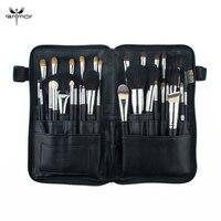 Anmor Professional 32 PCS Makeup Brushes Set Natural Hair Make Up Brushes Black Makeup Tools With Bag HOS001