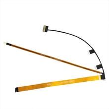 Novo para lenovo thinkpad t470 portátil lcd cabo de tela vídeo com webcam dc02c009h10