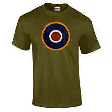 RAF Roundel WW2 Spitfire Target Royal Air Force Fathers Day PREMIUM T-Shirt New T Shirts Funny Tops Tee New Unisex Funny Tops(China)