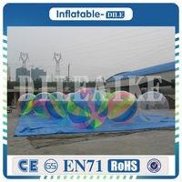 Бесплатная доставка 0.8 мм ПВХ 2 м раздувной Гуляя бассейна водный шар zorb Надувные людской мяч