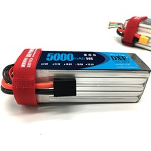 DXF RC Lipo Battery 5S 18.5V 5000mAh 50C Max 100C for Helicopter Quadcopter Airplane Drone FPV Car
