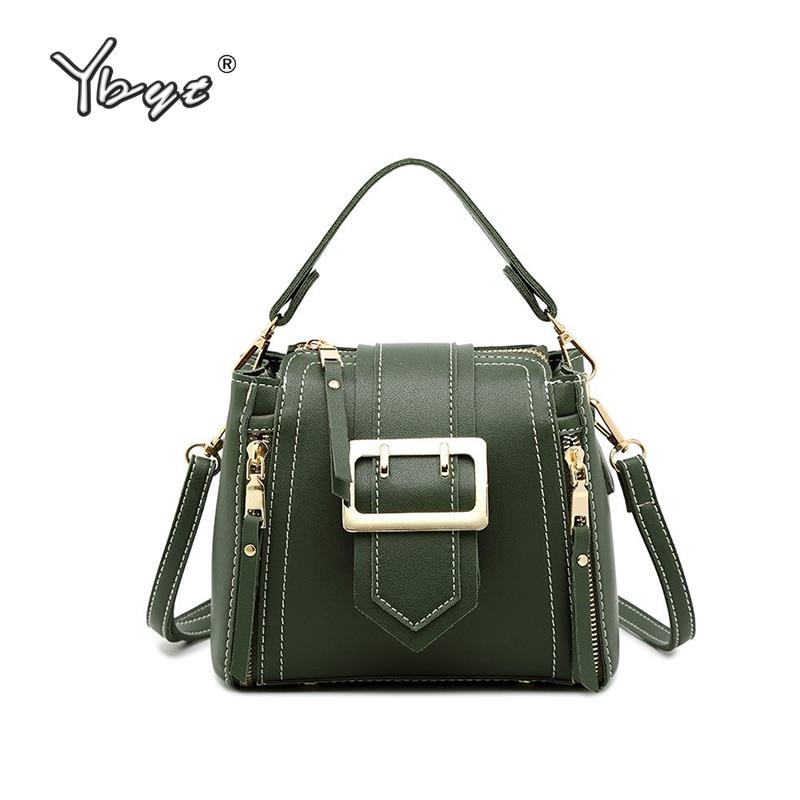 Simple Fashion Women Bucket Bag High Quality Leather Shoulder Bag Luxury Handbags Summer Style Female Crossbody Messenger Bags