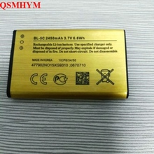QSMHYM Фирменная Новинка BL-5C 2450 mAh 3,7 V Li-Ion BL5C Золото Замена Батарея для Nokia 2610 2600 2300 6230 6630 N70 N71