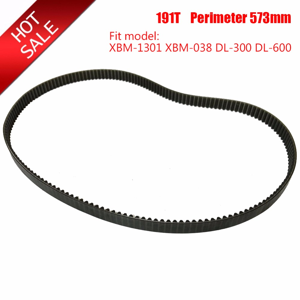 Bread Machine Belts 191T Perimeter 573mm Bread Maker Parts Breadmaker Conveyor Belts