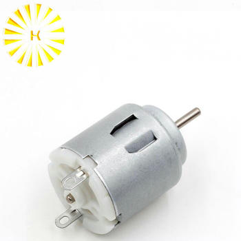 DC 3V-6V 140 Motor 2000 RPM for DIY Electric motor Toy Car Ships Small Fan Connector image