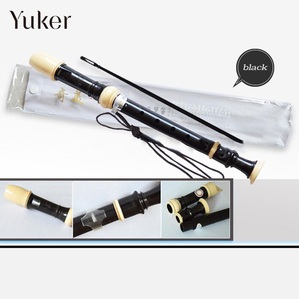 ABS Durable Teaching Clarinet Gift Treble Flute Student A Soprano Flute Long Children