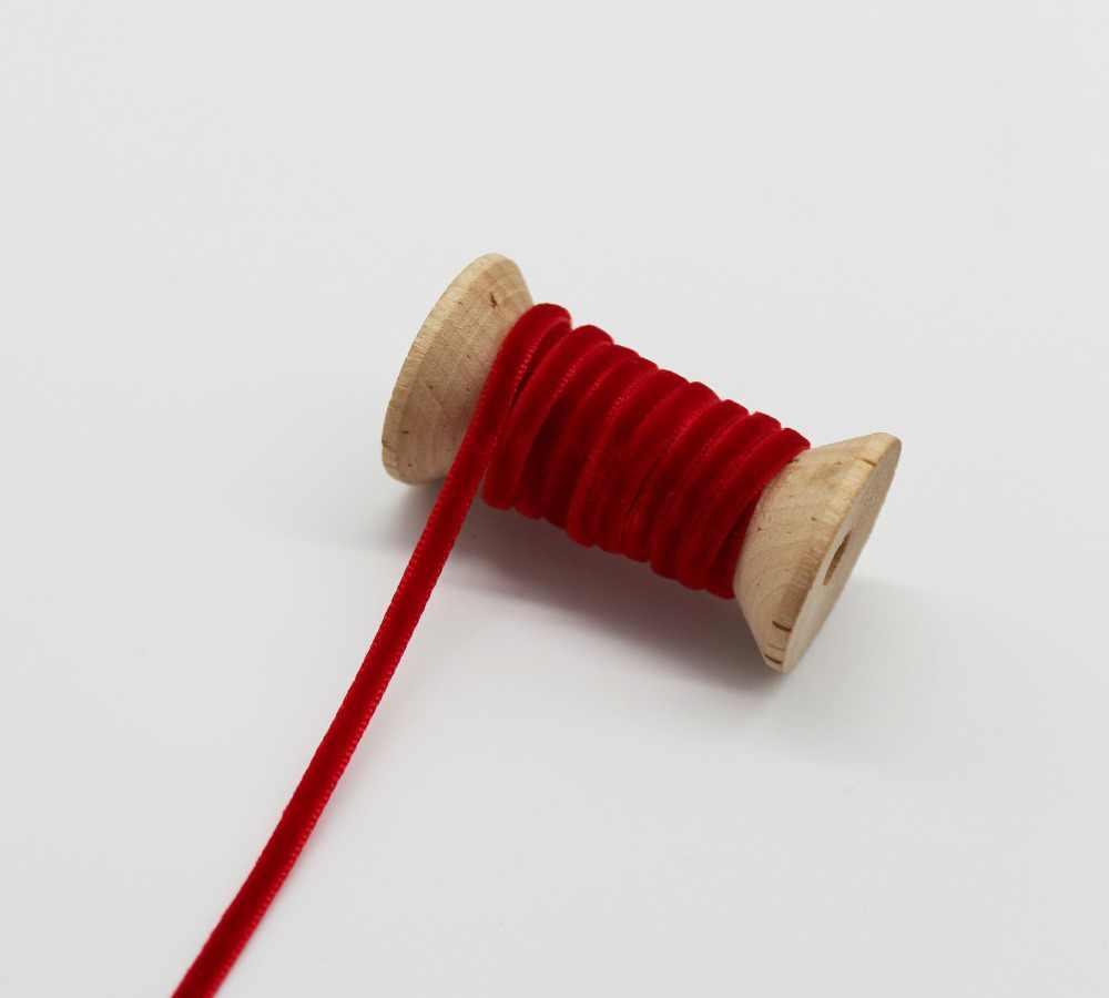 """1/8 """"3 мм 1/4"""" 6 мм 3/8 """"9 мм бархатная лента без эластичной ткани для самостоятельного изготовления подарочной коробки декоративная обертка"""