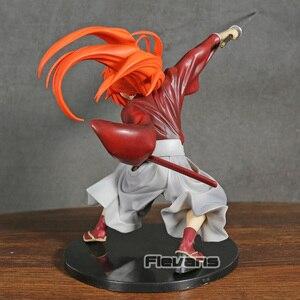 Image 4 - Samurai X Kenshin Himura Kenshin PVC Figur Spielzeug Sammler Figurine Modell
