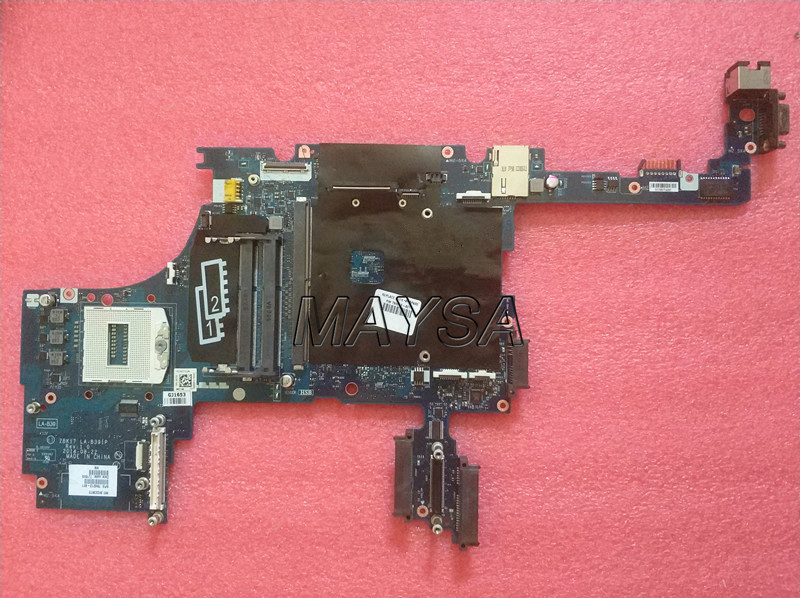 784213-601 <font><b>motherboard</b></font> for HP Zbook 17 G2 Notebook PC System board ZBK17-G2 LA-B391P Rev 1.0 784213-501 784213-001 image
