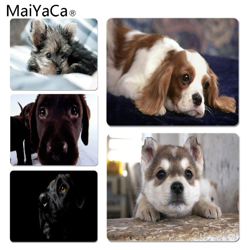 MaiYaCa Puppies Cocker Customized laptop Gaming mouse pad Size for 25X29cm Gaming Mousepads