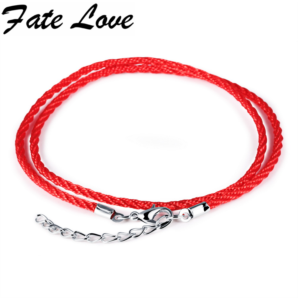 products charm bracelet fire asset red braided line double transformation wife
