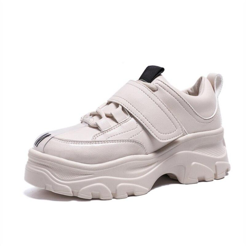 Осенняя модная Ультралегкая спортивная обувь на толстой подошве; женская зимняя теплая бархатная обувь; Лидер продаж; Повседневная модная ...