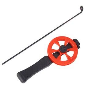 Image 3 - Удочка для подледной рыбалки THEKUAI с катушкой, Спортивная удочка для активного отдыха, комбинация для рыбалки, удобная переноска 30 г
