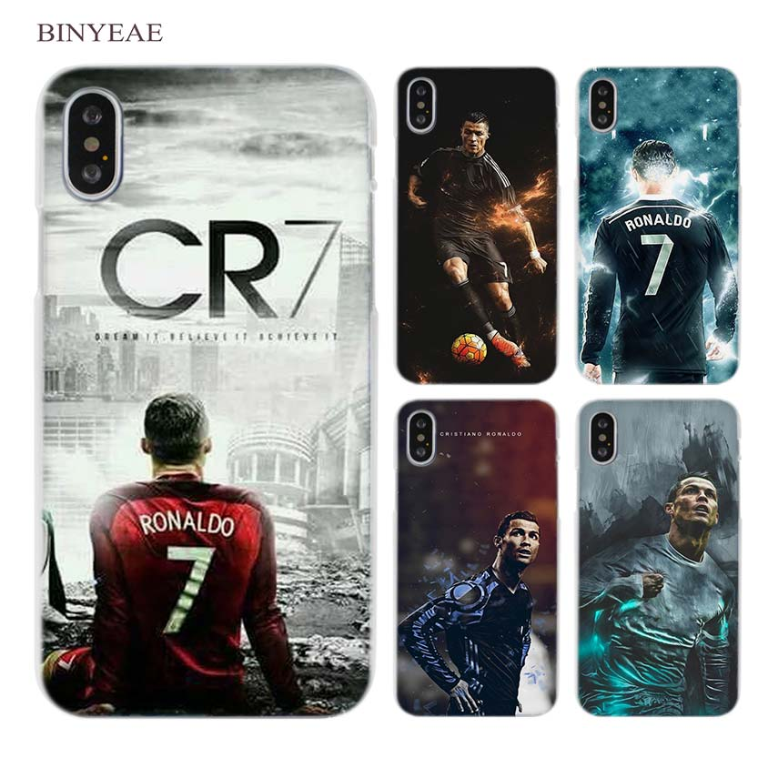 05d2123c7 BINYEAE cr7 cristiano ronaldo Clear Cell Phone Case Cover for Apple iPhone  X 6 6s 7 8 Plus 4 4s 5 5s SE 5c