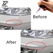 Zd 1pc carro estilo para skoda octavia a5 a7 2 fabia yeti bmw e60 f30 x5 e53 inifiniti pintura do carro arranhões reparação caneta ferramentas capa