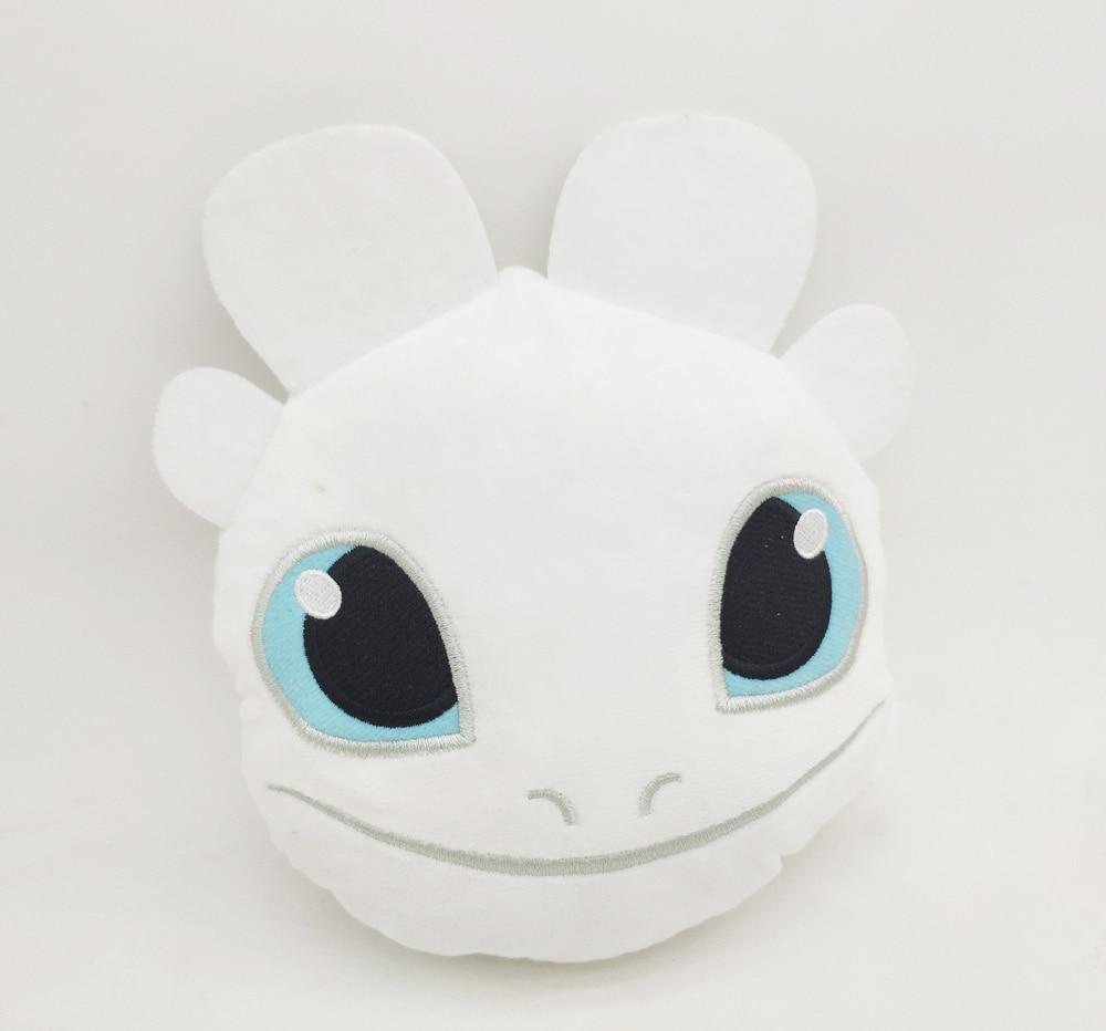 Light Fury Dragon Master 3 Plush Doll Toy New Arrivel White Dragon Hildren Adult Gift