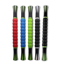 18inch Muscle Roller Stick Crossfit Fitness Equipment ABS Massage Roller Stick Yoga Roller Leg Body Arm