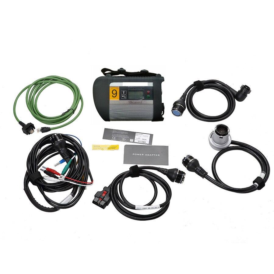 Prix pour A + + + Qualité Plein Puce MB ÉTOILE C4 MB SD Connecter Compact 4 Outil De Diagnostic avec WIFI Fonction