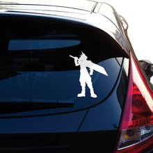 Final Fantasy 7 Decal. Inspired Cloud Sticker. For Car Window, Laptop, Motorcycle, Walls, Mirror and More. borderlands who decal sticker for car window laptop motorcycle walls mirror and more car sticker car door protector