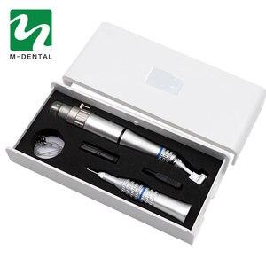 Image 2 - محرك كهربائي الأسنان مستقيم كونترا زاوية بطيئة سرعة قبضة لأداة تلميع محرك صغري مختبر الأسنان