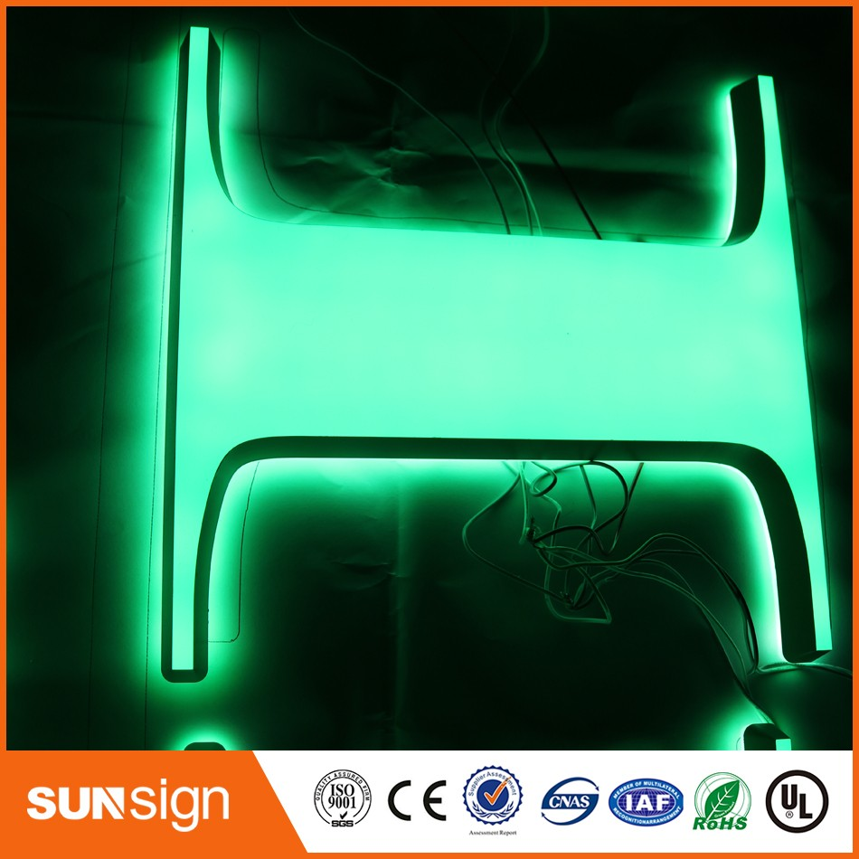 Custom Amazing Beautiful LED Acrylic Channel Letter Signs