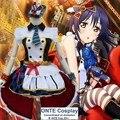 Любовь онлайн! Косплей Nozomi тодзио пробуждение горничной костюмы Yazawa нико минами Kotori сонода Umi Kousaka Honoka платье для хэллоуина