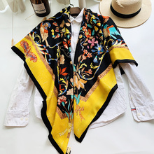 Top Grade Silk Cashmere Scarf for Women Winter Blanket Scarves Cape Shawl